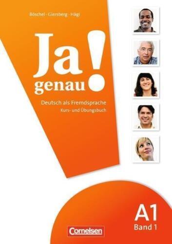 1 von 1 - Ja genau! Deutsch als Fremdsprache: A1. Teil 1 Kurs-/Arbeitsbuch