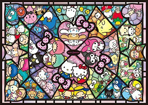 208 stck puzzle sanrio charakters hello kitty meine melodie (18.2x25.7cm) f   s