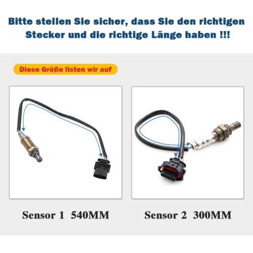 Lambdasonde VOR Katalysator für Opel Astra G H Meriva B Vectra C Zafira B 1.6 DE