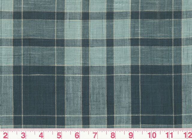 Cotton Plaid Drapery Upholstery Fabric By Fabricut Patrn Robinson
