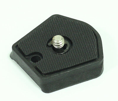 785PL Manfrotto 785PL-14 quick release Plate 1/4 screw for camera tripod 5d2 5d3