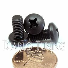 "#10-32 x 3/8"" - Qty 10 - Network Server or DJ Pro Audio Rack Rail Mount Screws"