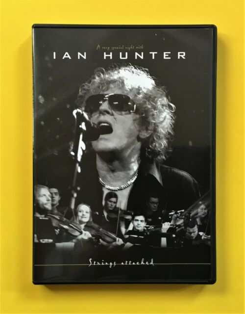 Ian Hunter Strings Attached DVD (Universal, 2003) Hoople legend with orchestra!
