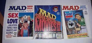 3-X-MAD-SUPER-SPECIALS-autumn-83-spring-84-amp-autumn-84-sex-amp-love-movies-TV