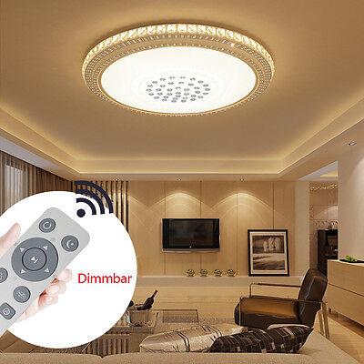 Rund 24W-78W LED Deckenleuchte Kristall Wohnzimmer ...