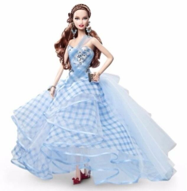 Barbie the Wizard mágica of Oz Fantasy glamour Dorojohy viene 2013 y3355 NRFB