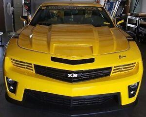 fiberglass hood for 2010-2013 CHEVROLET CAMARO 14-15 V6 ...