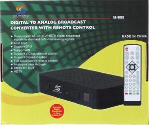 NEW-SUNKEY-DIGITAL-TO-ANALOG-CONVERTER-BOX-HDTV-SIGNAL-ANTENNA-DTV-TV-SK-903H