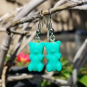 Gummy teddy earrings