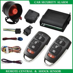 Antifurto-Allarme-Auto-e-Kit-2-Telecomandi-Chiusura-Centralizzata-Universale