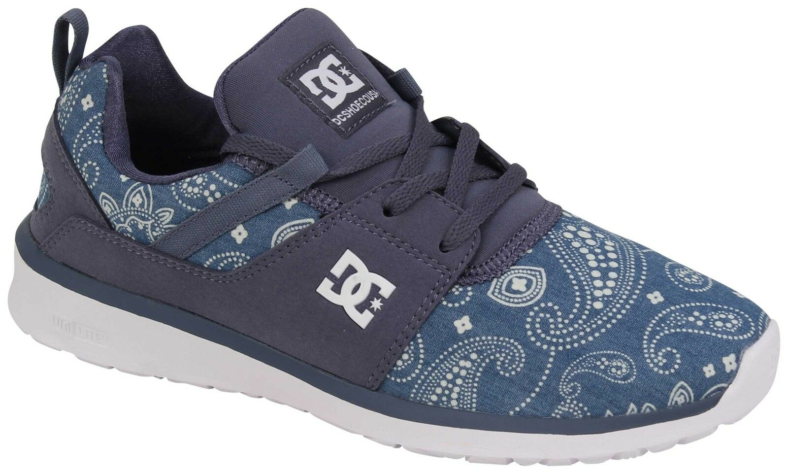 DC Women's Heathrow SE shoes - Navy   White - New