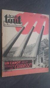 Rivista I Sais Tutti Mai 1939 Uno Canoa Può Lavello Uno Corazza ABE