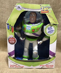 Disney Pixar Toy Story Talking Buzz Lightyear 30 Phrases Action Figure