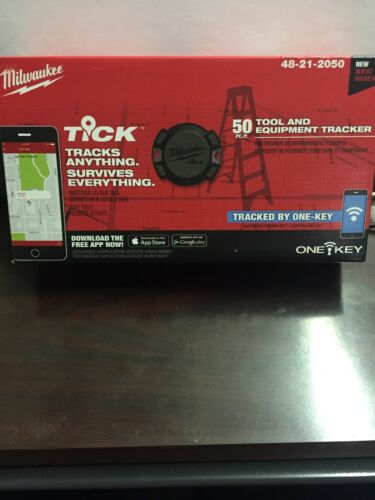 Milwaukee Tick 50 pack Tool Tracker One-Key 48-21-2050 Brand New. B-R