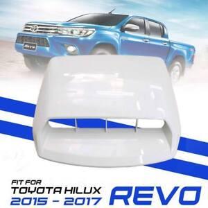 BONNET HOOD SCOOP COVER DARK GREY FIT FOR TOYOTA HILUX REVO M70 M80 15 16 17