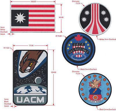 ALIENS Movie UACM Flag Patch Canadian Variant