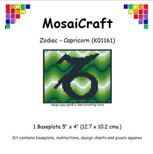 MosaiCraft Pixel Craft Mosaic Art Zodiac Kit /'Capricorn/' Pixelhobby