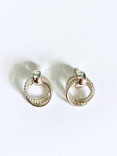 HMN Silver /& Gold Earrings