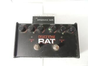 ProCo Deucetone Dual Rat Distortion Effects Pedal Free USA Ship