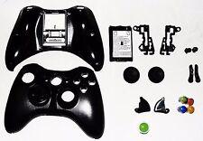 Set of 20 Xbox 360 Black Microsoft Shells