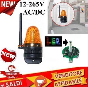 LAMPEGGIANTE-CON-ATENNA-A-LED-12V-A-230V-AC-DC-LAMPEGGIATORE-CANCELLO-UNIVERSALE
