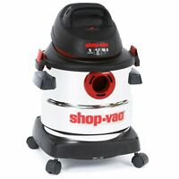 Shop-Vac 5-Gallon 4.5-Peak HP Stainless Steel Wet Dry Vacuum Cleaner 5986000 New