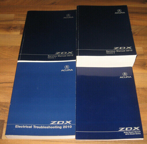 2010 ACURA ZDX Service Manual Set (4)_Vol. 1 & 2_BODY