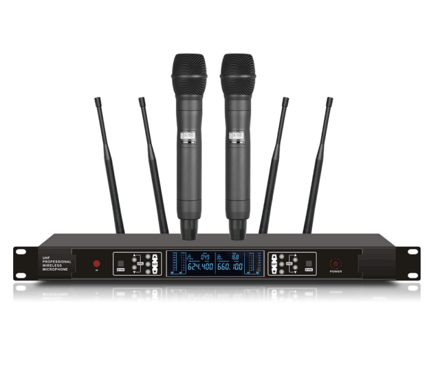 professional uhf wireless cordless microphone mic system for shure sm58 wireless for sale online. Black Bedroom Furniture Sets. Home Design Ideas