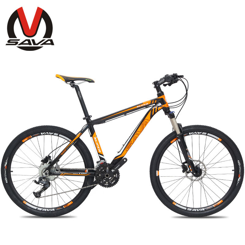 SAVA 26  Line Pulling Mountain Bike 27S Bicycle Aluminum Alloy Frame M1 3colors