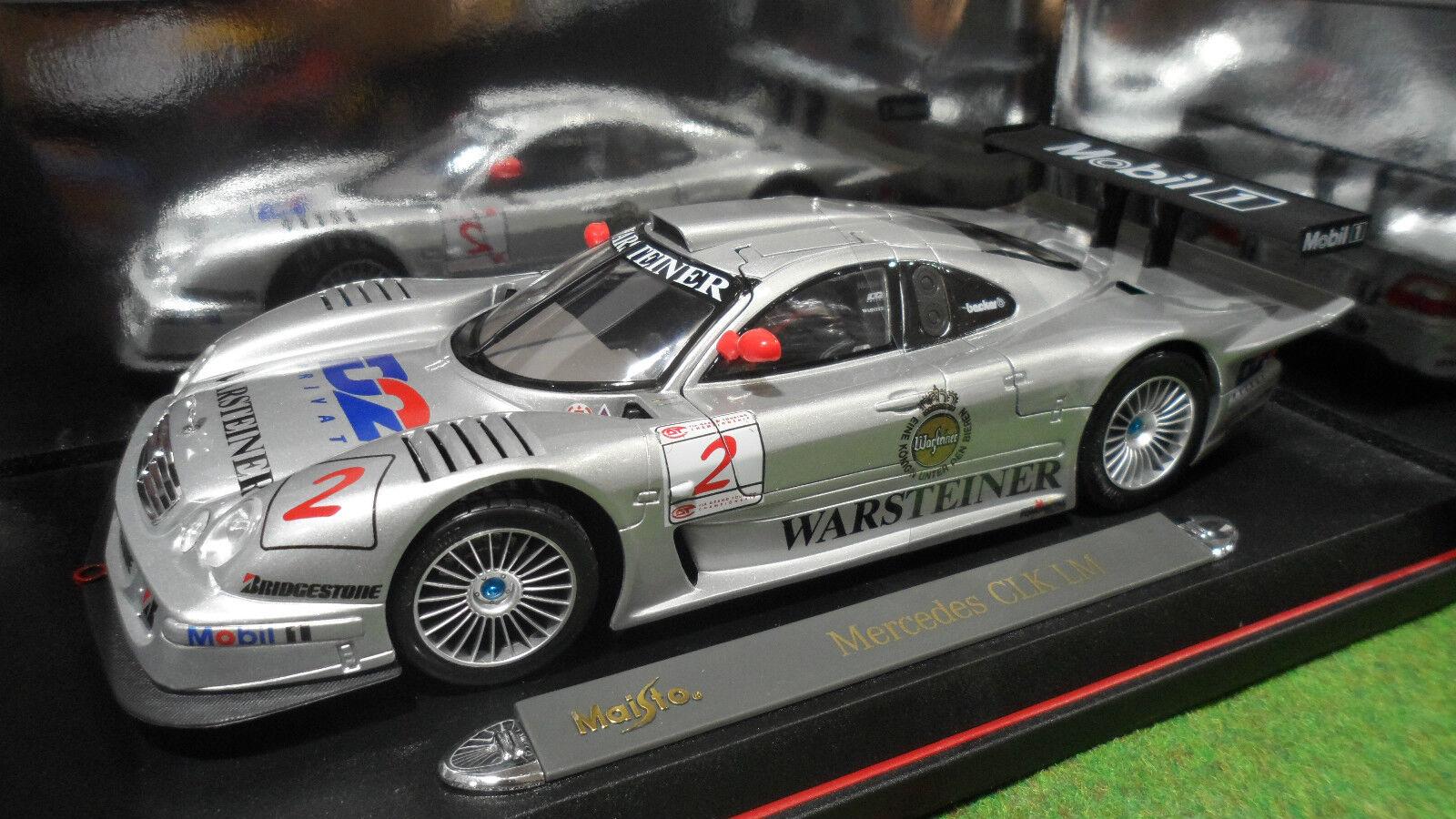 increíbles descuentos MERCEDES BENZ CLK CLK CLK LM D2 WARSTEINER  2 1 18 MAISTO 38868 voiture miniature collec  mejor oferta