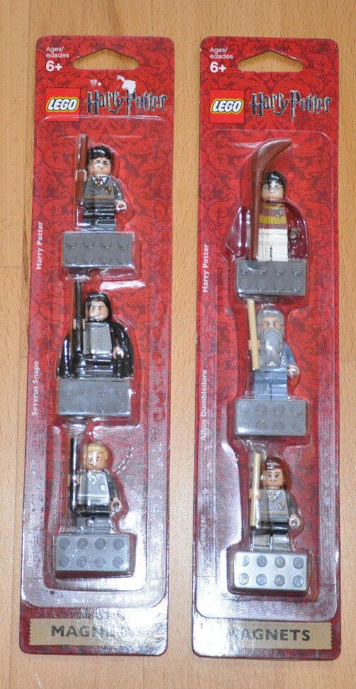Lego® 852982 Potter Granger Dumbledore 852983 Snape Malfoy NICHT VERKLEBT NEU