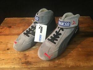 Details about MITSUBISHI RALLIART EVO VII x SPARCO x PUMA driving boots  deadstock