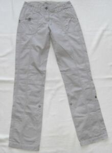 S.Oliver Ladies Summer Trousers Women's Size 34 L34 Condition Very Good