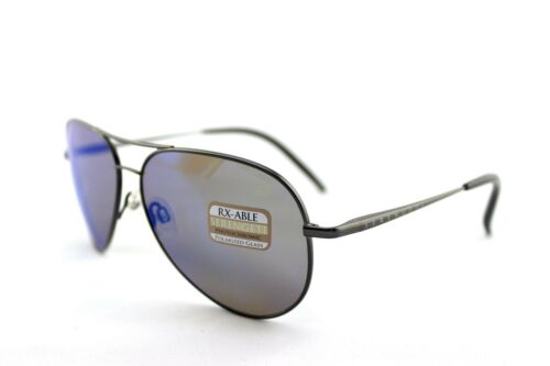 8539559c3c7 3 of 9 POLARIZED New SERENGETI PANAREA Le Mans 24h Satin Dark Gunmetal Sunglasses  8486