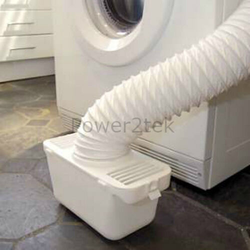 Condensatore Sfiato Kit Box /& tubo per asciugatrice Hotpoint Universale montabile a parete