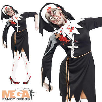 Adult Ladies Plus Size Ghostbusters Halloween Fancy Dress Costume Extra Large BN