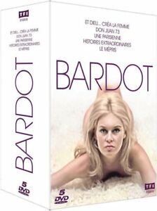Coffret-5-DVD-Brigitte-BARDOT-TF1-Video-NEUF-cellophane-PORT-OFFERT