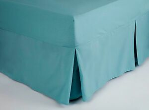 200-Thread-Count-Polycotton-King-Size-Fitted-Valance-Sheet-in-Teal