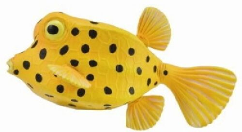 Yellow Brown kofferfisch 2 3//8in Water Creature CollectA 88788 Novelty 2017