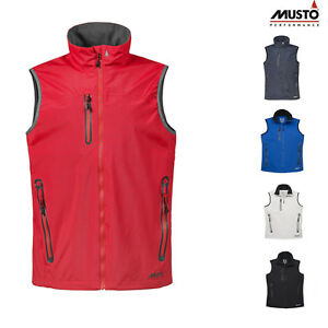 Details about Musto Men's Corsica Breathable Gilet SMJK00064 Sleeveless Casual Outerwear