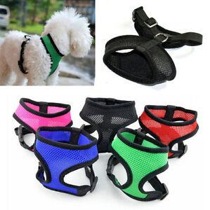 Pet-Dog-Rabbit-Harness-Puppy-Soft-Leash-VEST-Mesh-Breathe-Adjustable-XS-XL