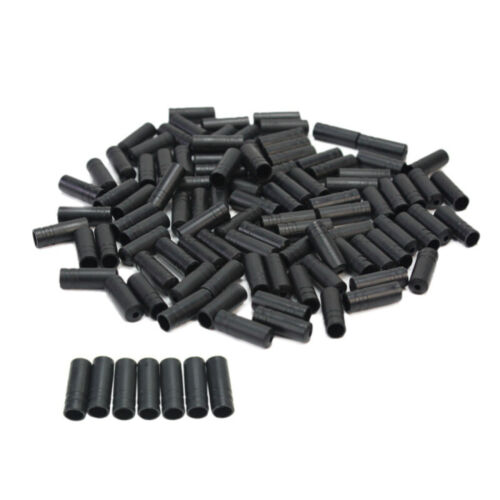 NEW 100X Brake Cable Housing Ferrule End Caps Crimp For Bike Bicycle Part 4mm