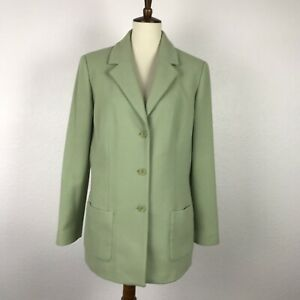 Nordstrom-Cashmere-Wool-Blend-Fitted-Lined-Jacket-Coat-Blazer-Sz-12