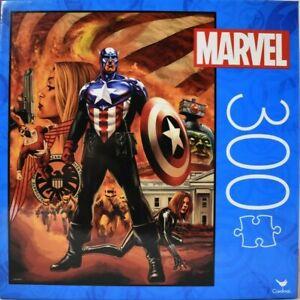 "Marvel Captain America 300 Pc Jigsaw Puzzle 18"" x 24"""