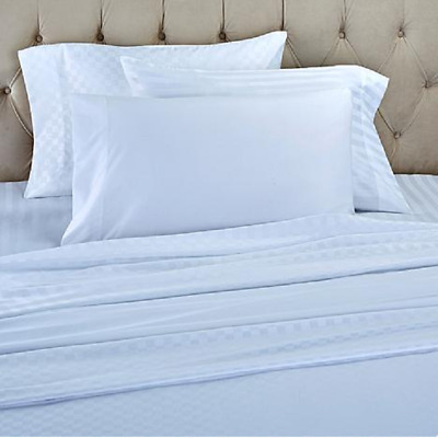 Superieur Concierge Collection Set Of 3 Solid And Patterned Sheet Sets, White , Size  Full 655385193528 | EBay