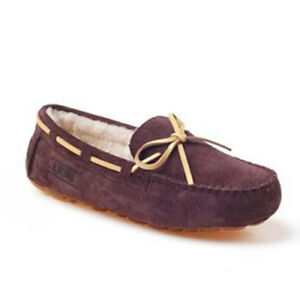 f42caa4a5c9 Details about OZWEAR UGG Classic Lace Moccasin Women Shoe GIFT OB130