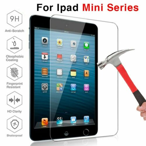 Tempered Glass Screen Protector For Apple iPAD Mini1 Mini2 Mini3 Mini4 Mini5
