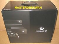 Microsoft Xbox One Day One Edition 500 Gb Black Console + Kinect Sealed