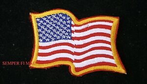 US-FLAG-USA-WAVING-BADGE-AUTHENTIC-COLLECTOR-AMERICA-PATCH-PATRIOTIC