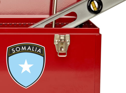 2 x Somalia Flag Design Vinyl Stickers Travel Luggage #10635